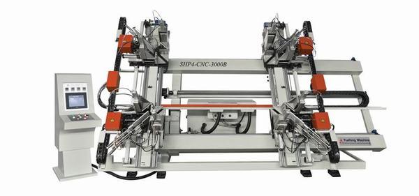 Máy hàn nhựa 4 đầu CNC