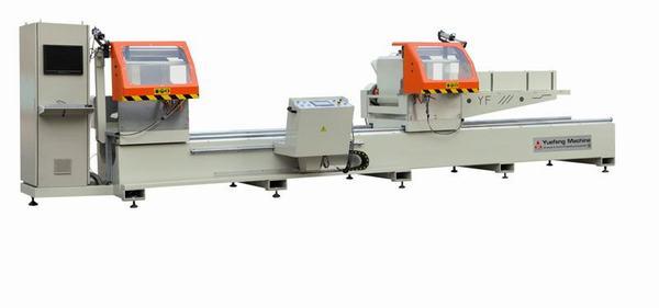 Máy cắt nhôm 2 đầu CNC-LJB2B