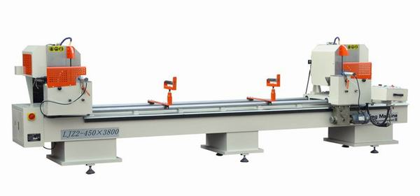 Máy cắt nhựa 2 đầu LJZ2-450x3800
