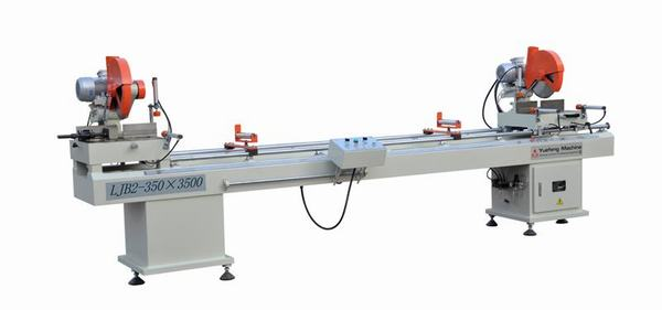 Máy cắt nhựa 2 đầu LJB2-350x3500(02B)