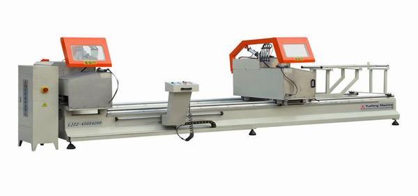 Máy cắt nhôm 2 đầu LJZ2-450×4200