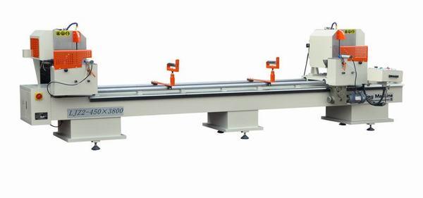 Máy cắt nhôm 2 đầu LJZ2-450x3800