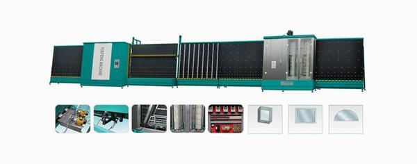 Dây chuyền sản xuất kính hộp CNC-GPL-XY1800B