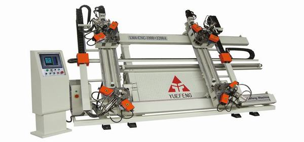 CNC Vertical Four-point Corner Crimping Machine