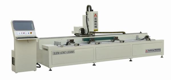 CNC Three-axis Milling Drilling Machine